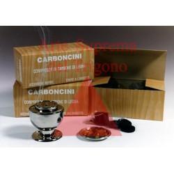 Carboncini da incensiere