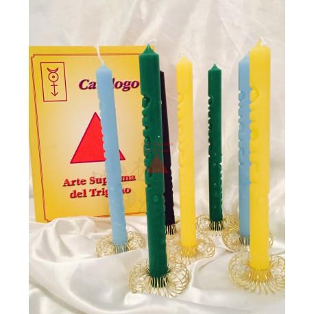 SINGOLE candele  Supreme Rituale di Pan
