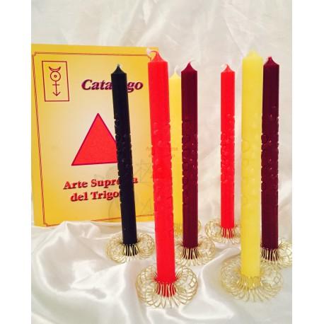 SINGOLE candele  Supreme Rituale di Plutone