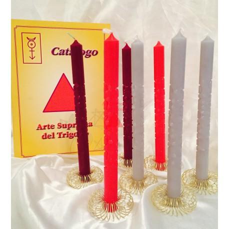 SINGOLE candele  Supreme Rituale di Marte