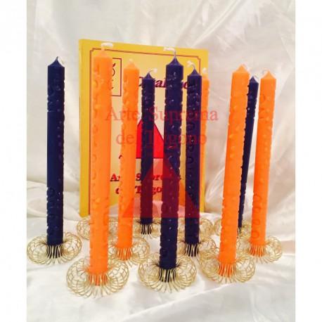 SINGOLE candele Supreme rito di Mercurio
